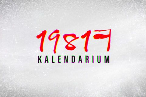 Kalendarium 1981 – oprawa programu tv